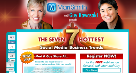 Screen grab of the summary page of the 7 Trends webinar by Mari Smith and Guy Kawasaki, http://www.marismith.com/7smtrends/