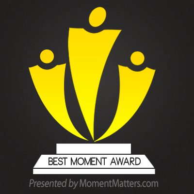 First-Time Best Moment Award